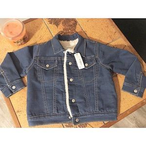 Other - Girl's Size 3T Jean Jacket with Wool Inside